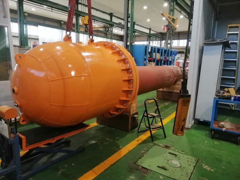 Desarrollo naval de Depósito presión
