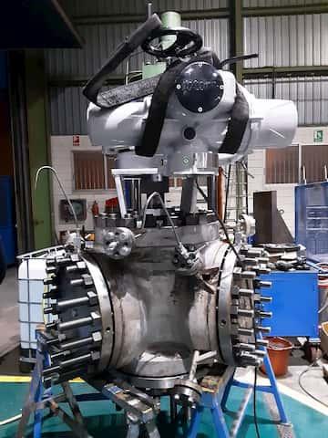 reparar valvulas industriales