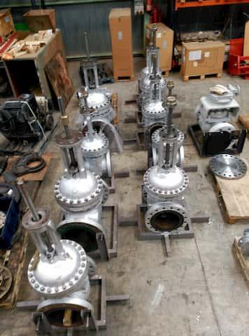 Reparación de válvulas velan