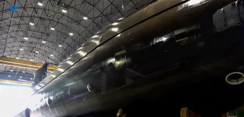 Fabricación de Componentes para Submarinos